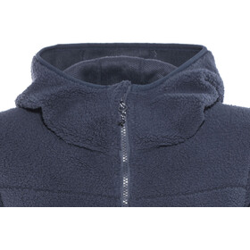 North Bend Pile Fleece Hoodie Damen dunkelnavy
